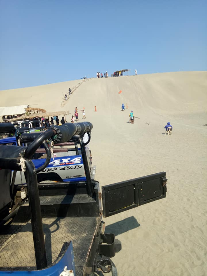 The Sand Dune in Laoag