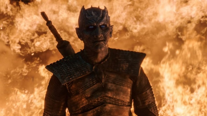 Night King unburnt