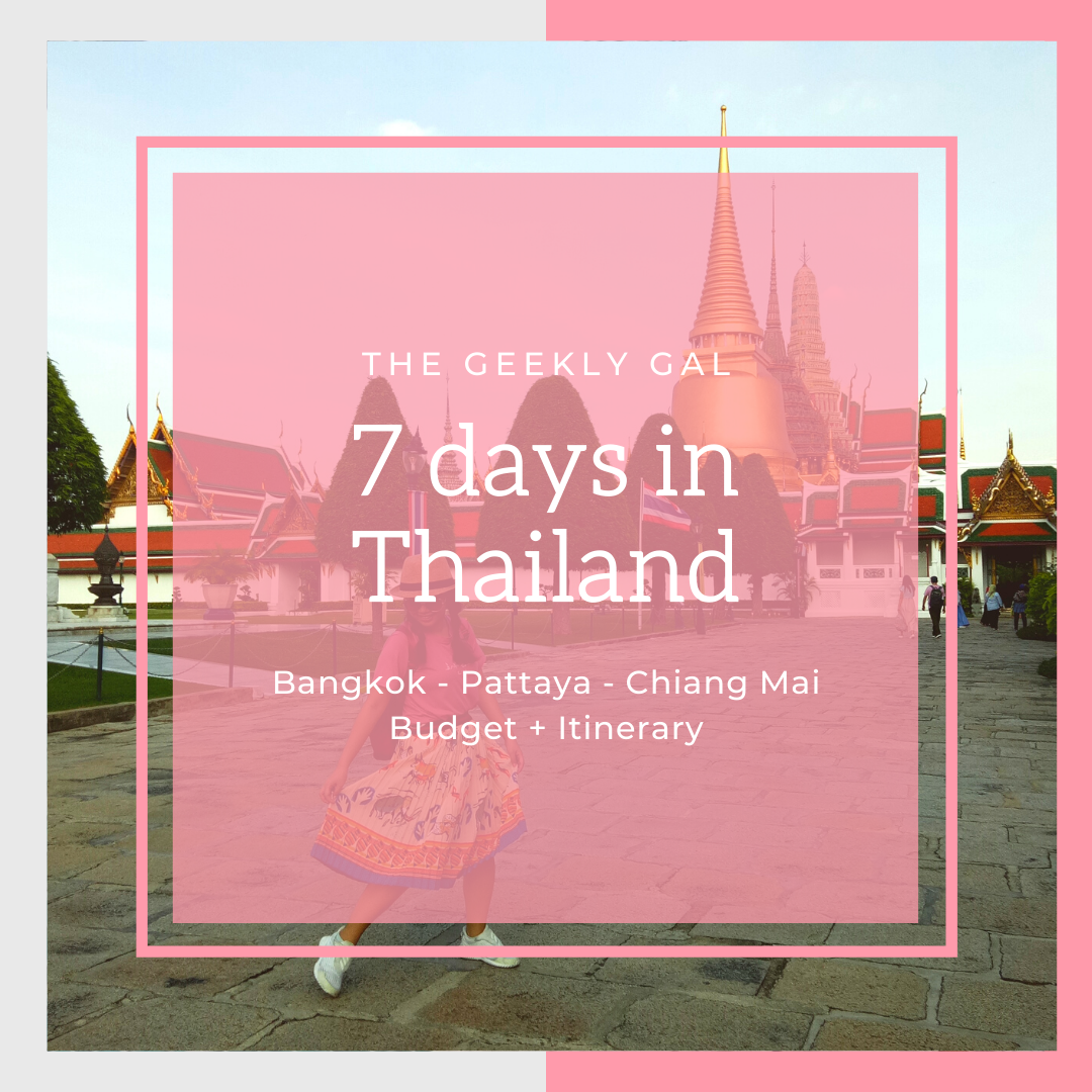 7 Days in Thailand (Guide + Budget + Itinerary)